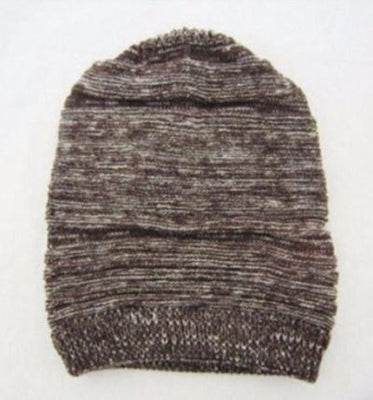 NinjApparel - Beehive Beanie Coffee Front View