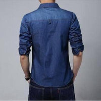 Ninjapparel - Urban Cowboy - Dark Blue - Back