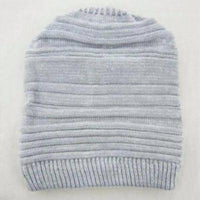 NinjApparel - Beehive Beanie Light Grey Front View