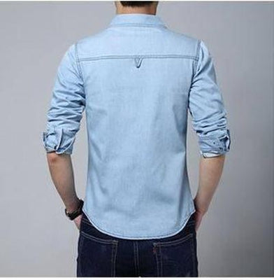 Ninjapparel - Urban Cowboy - Light Blue - Back