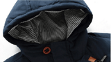 Ninjapparel - Master of a down - Blue Hoodie Detail