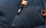 Ninjapparel - Master of a down - Blue Zip Detail