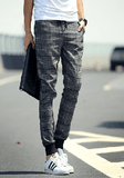 NinjApparel - Chequer Joggers - Grey 3