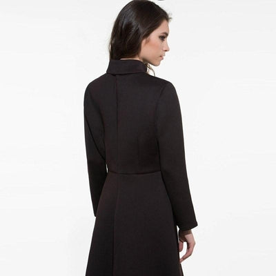 NinjApparel - Mystery - Black - Dress - Back - Close