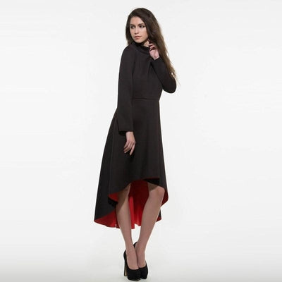 NinjApparel - Mystery - Black - Dress - Front