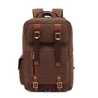 NinjApparel - Vintage Backpack -  Coffee