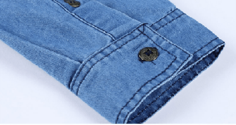 Ninjapparel - Urban Cowboy - Sleeve Button Detail
