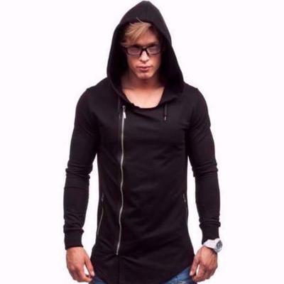 NinjApparel - Dark Saint Hoodie - Cover Photo Black