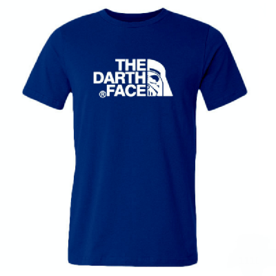 NinjApparel - Darth Face T-Shirt - Blue