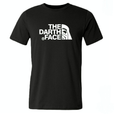 NinjApparel - Darth Face T-Shirt - Black