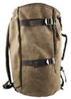 NinjApparel - Duffel Bag - Coffee