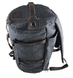 NinjApparel - Duffel Bag - Stone Black Top View
