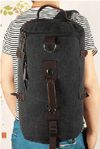 NinjApparel - Duffel Bag - Stone Black Model