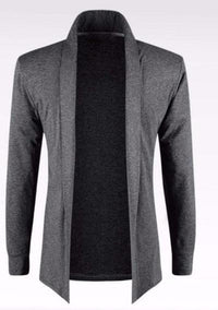 NinjApparel - Monaco Cardigan - Dark Grey