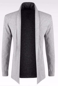 NinjApparel - Monaco Cardigan - Light Grey