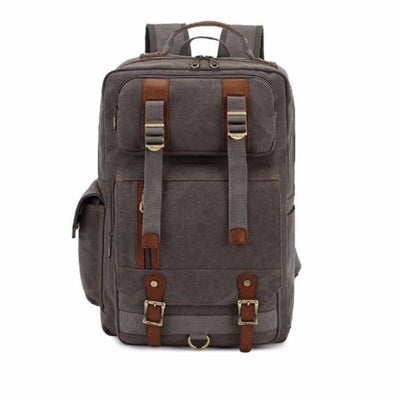 NinjApparel - Vintage Backpack -  Grey