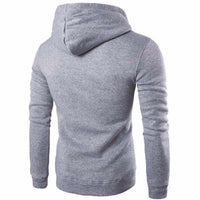 NinjApparel - Defender Hoodie - Light Grey - Back