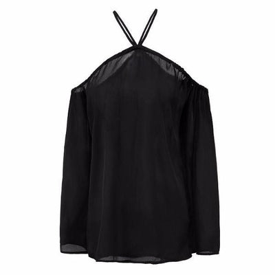 NinjApparel - Criss Cross Shirt- Black - Cover