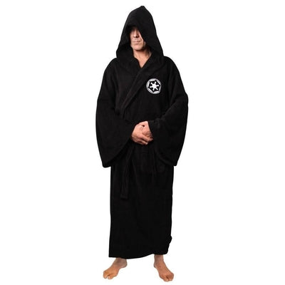 NinjApparel - The Jedi Council Robe - Variance-  Black - Front