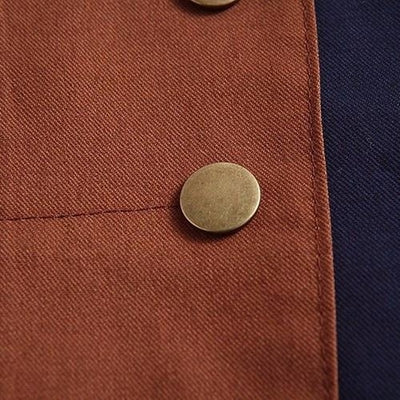 NinjApparel - Creed Hoodie - Button Detail