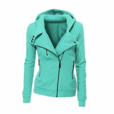 NinjApparel - The Duchess Free-runner - Women - Ladies - Jacket - Tiffany Blue - Cover