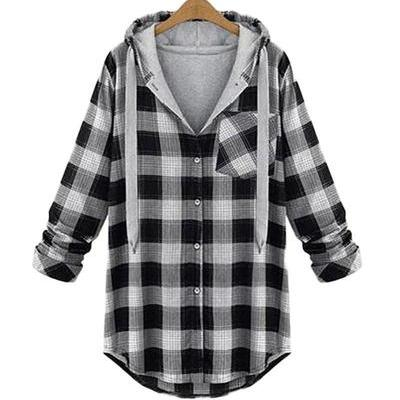 NinjApparel - Plaid Assassin Hoodie - Cover