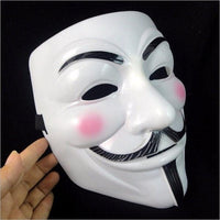 NinjApparel - Anonymous Mask - White