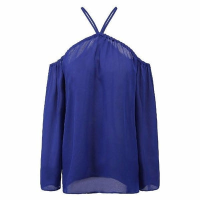 NinjApparel - Criss Cross Shirt - Blue
