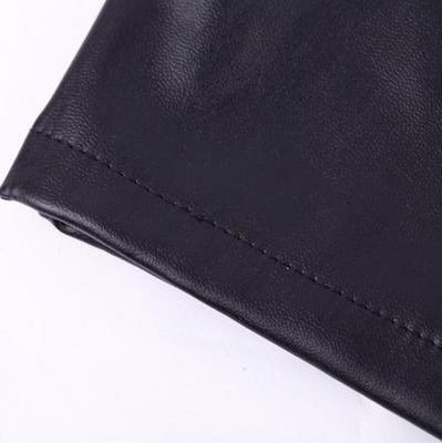 NinjApparel - Faux Leather Skirt - Hem Detail