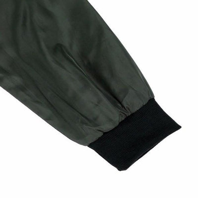 NinjApparel - The Classic Bomber - Sleeve Detail