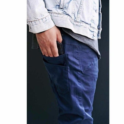 NinjApparel - Siege Joggers - Dark Blue - Pockets