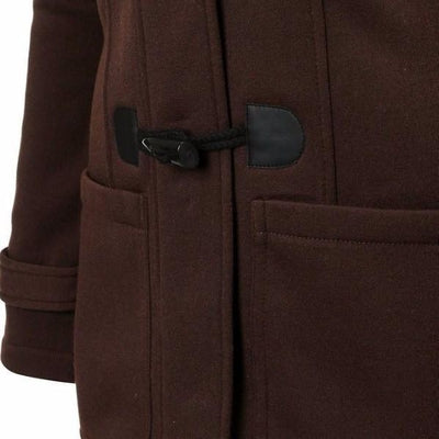 NinjApparel - Empress Jacket - Brown - Pocket Detail