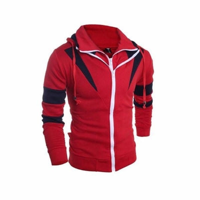 NinjApparel - Enforcer Hoodie - Red - Front