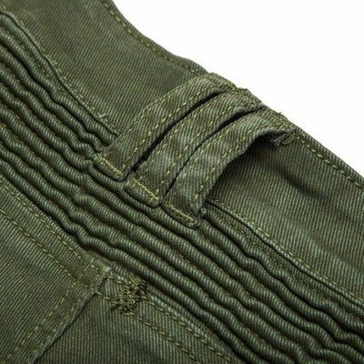 NinjApparel - Invader Joggers - Army Green - Belt Wholes