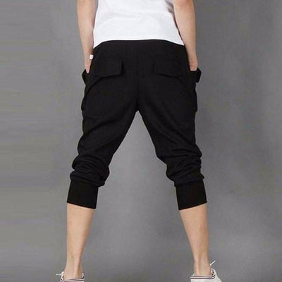 NinjApparel - Contemporary Joggers -  Black - Back