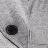 NinjApparel - Contemporary Joggers -  Button Detail