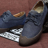 NinjApparel - Oxford Steps  - Blue Pair