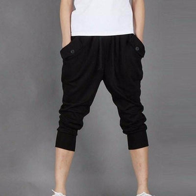 NinjApparel - Contemporary Joggers -  Black - Front