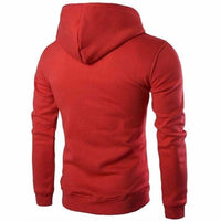 NinjApparel - Defender Hoodie - Red - Back