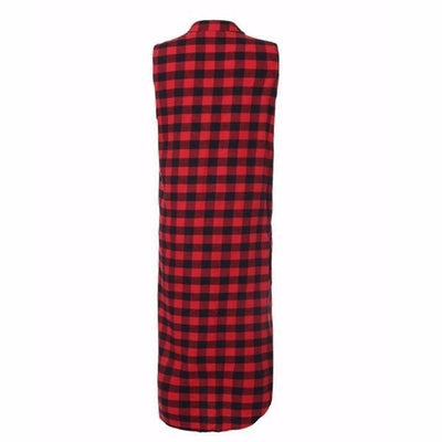 NinjApparel - The Statement Plaid - Back