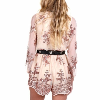 NinjApparel - Sphere Playsuit - Gold - Back