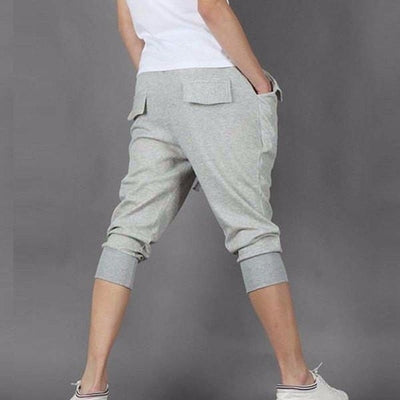 NinjApparel - Contemporary Joggers - Grey - Back
