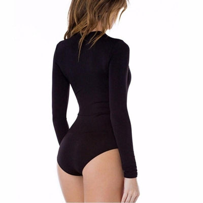 NinjApparel - The Zig Zag Body - Black - Back