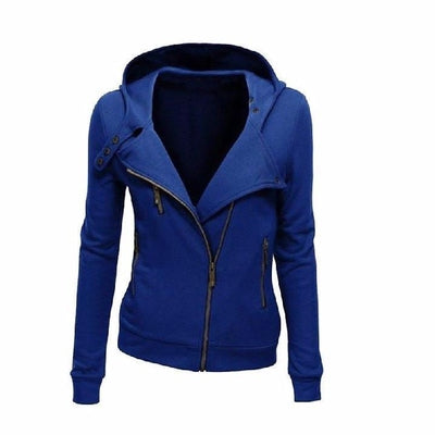 NinjApparel - The Duchess Free-runner - Women - Ladies - Jacket - Navy Blue - Front