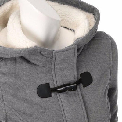 NinjApparel - Empress Jacket - Grey - Collar Detail