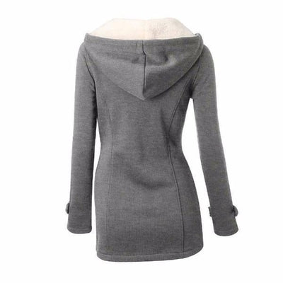 NinjApparel - Empress Jacket - Grey - Bak
