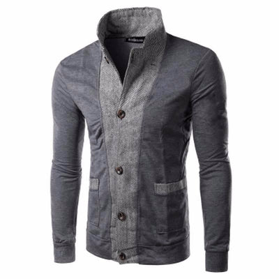 NinjApparel - Captive Cardigan - Grey - Cover