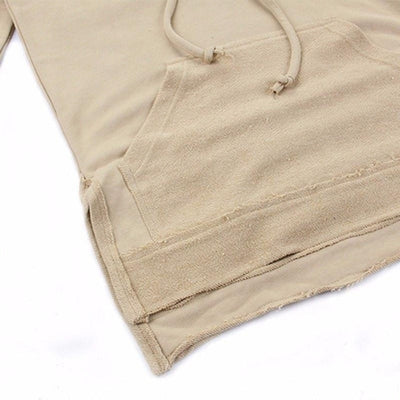 NinjApparel - The Necromancer - Khaki - Front - Detail