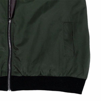 NinjApparel - The Classic Bomber - Rim Detail