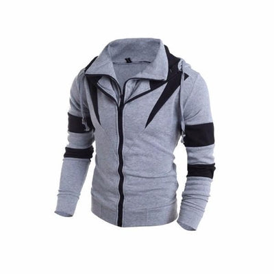 NinjApparel - Enforcer Hoodie - Grey - Side